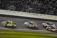 Matt Kenseth (#17), Dale Earnhardt,Jr. (#88), Kevin Harvick (#29) and Greg Biffle (#16).