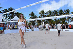 MIAMI BEACH, FL - FEBRUARY 20: Samantha Hoopes participates in Sports Illustrated Swimsuit 2014 Beach Volleyball:Models & Celebrity Chefs on February 20, 2014 in Miami Beach, Florida. (Photo by Johnny Louis/jlnphotography.com)