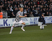 Gary Teale in the St Mirren v Brechin City William Hill Scottish Cup Round 4 match played at St Mirren Park, Paisley on 1.12.12.