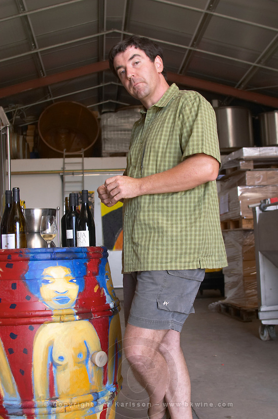 Philippe Gard Domaine Coume del Mas. Banyuls-sur-Mer. Roussillon. Owner winemaker. France. Europe.