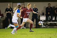 STANFORD, CA - September 27, 2018: Beattie Goad at Stanford Stadium. The Stanford Cardinal defeated the UCLA Bruins, 3-2.