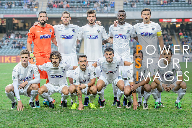 Auckland City FC Squad during the Nike Lunar New Year Cup 2017 match between SC Kitchee (HKG) and Auckland City FC (NZL) on January 31, 2017 in Hong Kong, Hong Kong. Photo by Marcio Rodrigo Machado / Power Sport Images