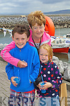 VISITING: Michael Young, Meath, Ina Young, Derry but originally Kerry and Dominique Young visiting the Fenit Lifeboat Regatta on Sunday..