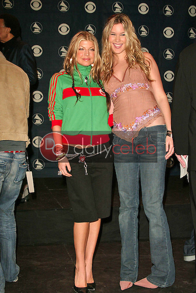 Fergie of the Black Eyed Peas and Joss Stone