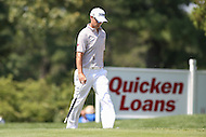 Bethesda, MD - June 26, 2016:  Tyrone Van Aswegen (RSA) walks to the green during Final Round of professional play at the Quicken Loans National Tournament at the Congressional Country Club in Bethesda, MD, June 26, 2016.  (Photo by Elliott Brown/Media Images International)