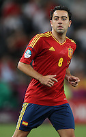Midfielder of the national team of Spain Xavi Hernández â?-8.