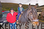 Attending the Cahersiveen horse and pony fair in Cahersiveen on Thursday last from Ballyseedy, Tralee, were father & son duo Raymond & Ross Sugrue with Silver Stars.