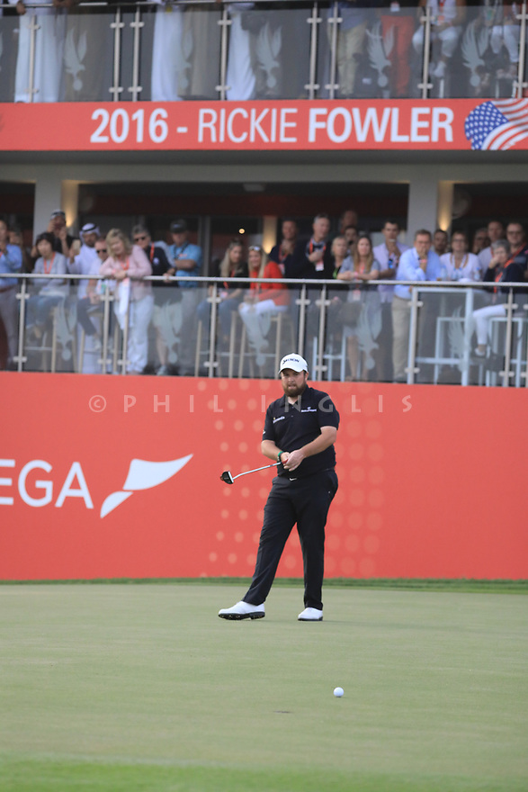 Shane Lowry (IRL) during the final round of the Abu Dhabi HSBC Championship presented by EGA played at Abu Dhabi Golf Club, Abu Dhabi, UAE. 17/01/2019<br /> Picture: Golffile   Phil Inglis<br /> <br /> All photo usage must carry mandatory copyright credit (© Golffile   Phil Inglis)