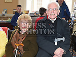 Jenny Collins and Dessie Quinn at the launch of the book Refelections on the 1916 Rising held in the Tholsel. Photo:Colin Bell/pressphotos.ie