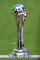 20170527 - KOELN , GERMANY : The German CUP pictured during the final of German Women's Cup 2017 - Pokal Final Frauen , a soccer women game between SC Sand and holders VfL Wolfsburg  , at the Rhein Energie Stadion , saturday 27 th Mayl 2017 . PHOTO SPORTPIX.BE | DIRK VUYLSTEKE