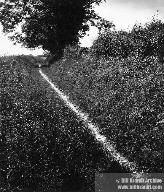 Pilgrim's Way, Kent 1950