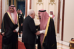 Palestinian President Mahmoud Abbas attends an emergency summit of Gulf Arab leaders in Mecca, Saudi Arabia, Thursday, May 30, 2019. Saudi Arabia's King Salman opened an emergency summit of Gulf Arab leaders in the holy city of Mecca on Thursday with a call for the international community to use all means to confront Iran, but he also said the kingdom extends its hand for peace. Photo by Thaer Ganaim
