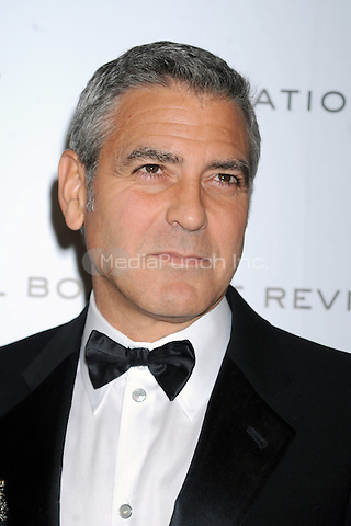 George Clooney at the 2011 National Board of Review Awards gala at Cipriani 42nd Street on January 10, 2012 in New York City Credit: Dennis Van Tine/MediaPunch