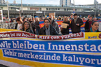 2014/02/22 Berlin | Demonstration gegen steigende Mieten