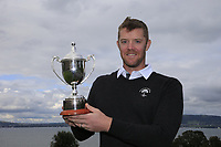 Peter O'Keeffe (Douglas) winner of the Irish Mid-Amateur Open Championship, Royal Belfast Golf Club, Hollywood, Down, Ireland. 29/09/2019.<br /> Picture Fran Caffrey / Golffile.ie<br /> <br /> All photo usage must carry mandatory copyright credit (© Golffile   Fran Caffrey)