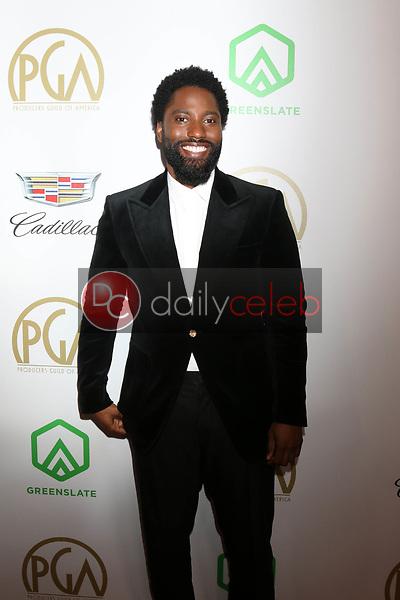 John David Washington<br /> at the 2019 Producer's Guild Awards, Beverly Hilton Hotel, Beverly Hills, CA 01-19-19<br /> David Edwards/DailyCeleb.com 818-249-4998