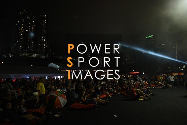 HSBC Hong Kong Rugby Sevens 2016 on 10 April 2016 at Hong Kong Stadium in Hong Kong, China. Photo by Moses Ng / Power Sport Images