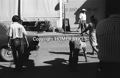 "Quadrupedal adult man hand walking Mazatlan Mexico 1973. Also known as Unertan or Uner Tan syndrome. ""Dr Nick Humphrey the leading authority on Quadrupedal humans says of these photographs are the """"...earliest record I know of."""""