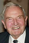 David Rockefeller attends the United Nations Association of USA Global Leadership Dinner honoring Oprah Winfrey with the Global Humanitarian Action Award at the Waldorf Astoria Hotel in New York City.<br />September 30, 2004