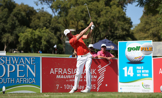 Russell Franz (RSA) from the 14th during Round Two of the Tshwane Open 2015 at the Pretoria Country Club, Waterkloof, Pretoria, South Africa. Picture:  David Lloyd / www.golffile.ie. 13/03/2015