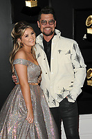 LOS ANGELES - FEB 10:  Ashleigh Taylor Crabb, Jason Crabb at the 61st Grammy Awards at the Staples Center on February 10, 2019 in Los Angeles, CA
