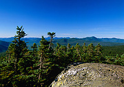 Appalachian Trail - Scenic views from Mount Jackson during the summer months in New Hampshire.