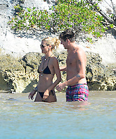Heidi Klum and Vito Schnabel enjoy a sunny beach day In Saint Barths