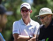 10th February 2018, Lake Karrinyup Country Club, Karrinyup, Australia; ISPS HANDA World Super 6 Perth golf, third round; Lucas Herbert (AUS)
