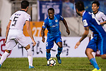 Christian Kwesi of SC Kitchee (C) in action during the week two Premier League match between Kitchee and Dreams FC at on September 10, 2017 in Hong Kong, China. Photo by Marcio Rodrigo Machado / Power Sport Images