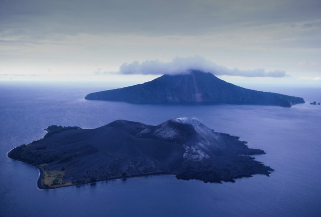 Krakatoa volcano, Indonesia