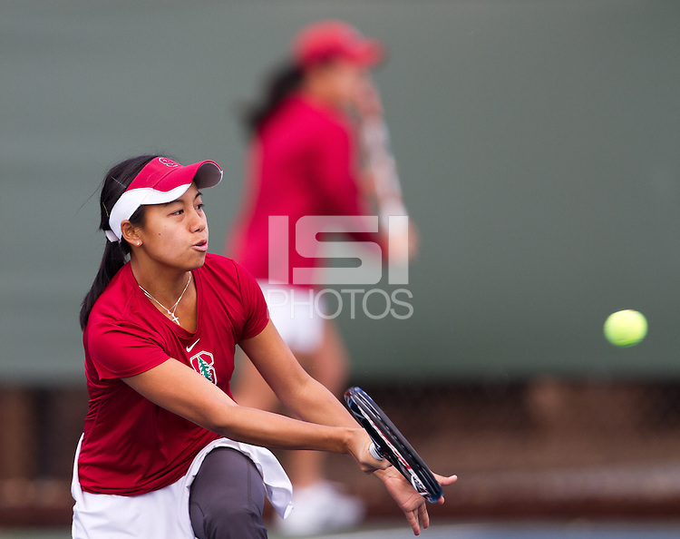 STANFORD, CA - February 25, 2011:  Stacey Tan during Stanford's 7-0 victory over Oregon at Stanford, California on February 25, 2011.