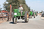 Annual fall Gas-Up at McFarland Ranch near Galt, Calif. of Branch 13, Early-Day Gas Engine and Tractor Association. (EDGE & TA)..1950 John Deere model MT-N rowcrop tractor