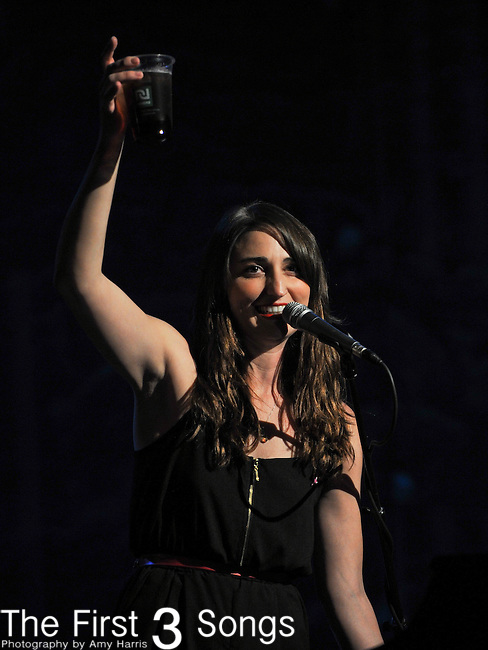 Sara Bareilles performs at the Madison Theater in Covington, Kentucky.