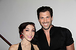 Meryl Davis & Maksim Chmerkovskiy - General Hospital and both Dancing with the Stars champions - 10th Annual Gala celebrating Figure Skating in Harlem's 18th year of operations at The Stars 2015 Benefit Gala on April 13, 2015 in New York City, New York honoring Olympic Champion Evan Lysacek, Gloria Steinem and Nicole, Alana and Juliette Feld with Mary Wilson as Mistress of Ceremony. (Photos by Sue Coflin/Max Photos)
