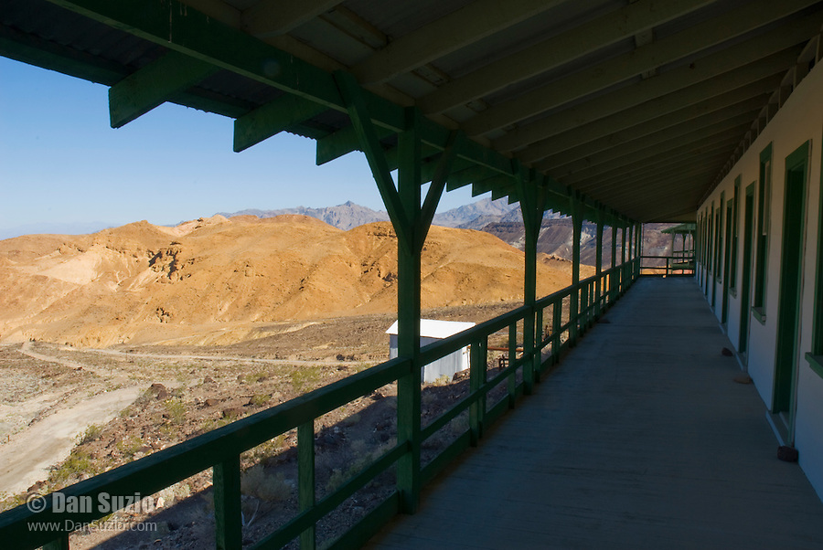 Dormitory at Ryan, California, a 1920s mining camp in the Greenwater Range on the Eastern edge of Death Valley