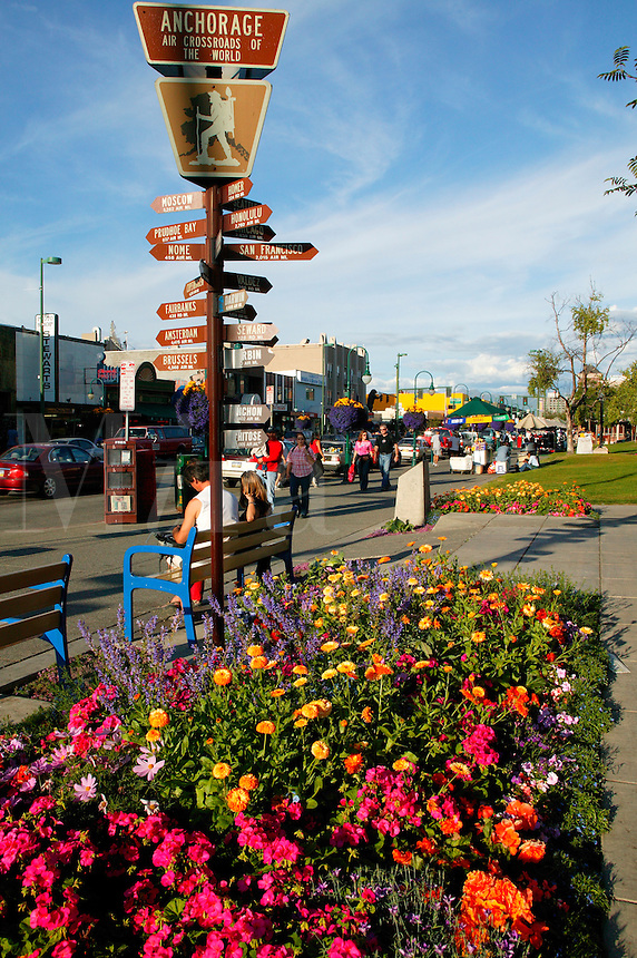 The Visitor Information Center in Downtown Anchorage, Alaska