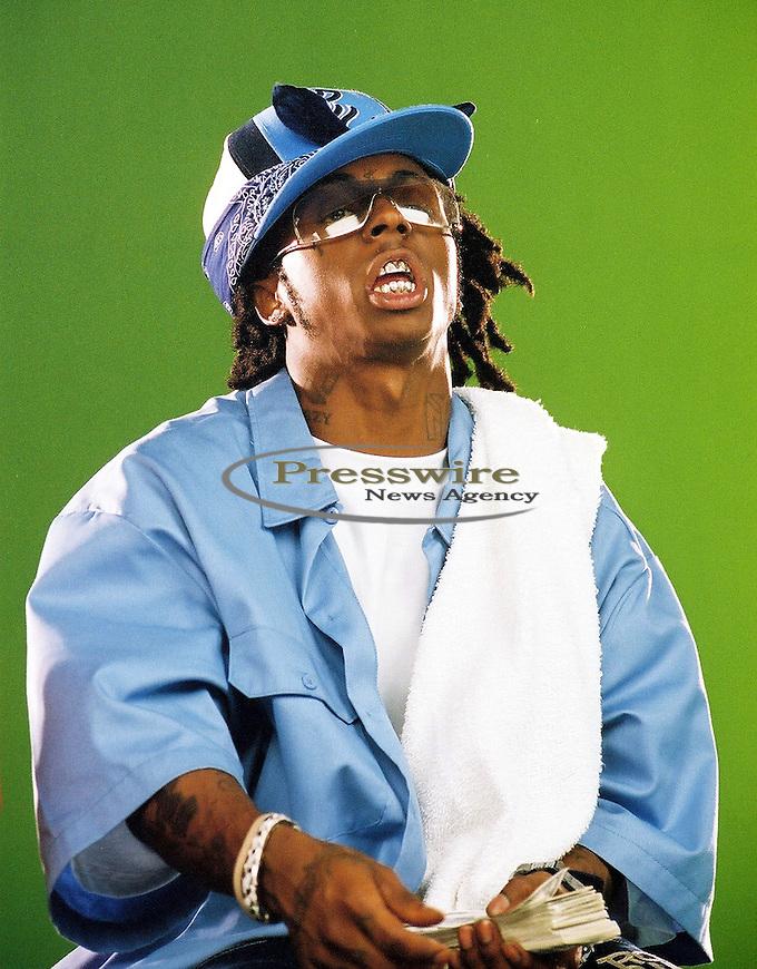 Lil Wayne in New Orleans, Louisiana on August 8, 2003.  Photo credit: Elgin Edmonds / Presswire News