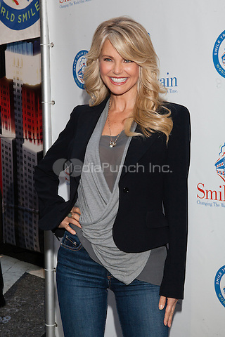 NEW YORK, NY - OCTOBER 5: Smile Train celebrates World Smile Day hosted by Christie Brinkley in New York City. October 5, 2012. © Diego Corredor/MediaPunch Inc.