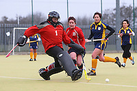 Romford HC Ladies vs Havering HC Ladies 2nd XI 23-02-13