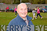 LONGEST SERVICE: Mark O'Brien secretary of Spa-Fenit-Barrow community games who at 89 years of age is the longest serving secretary of community games in the country.