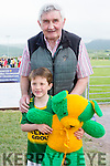 Mick O'Dwyer with Jaden Foley and his teddy 'Micko' who has been on the road to Dublin for the last 41 years who looks almost a good a the Man himself on his 80th birthday.