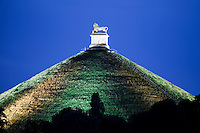 Belgium, Province Walloon Brabant, Waterloo: Butte du Lion on the Waterloo battlefield