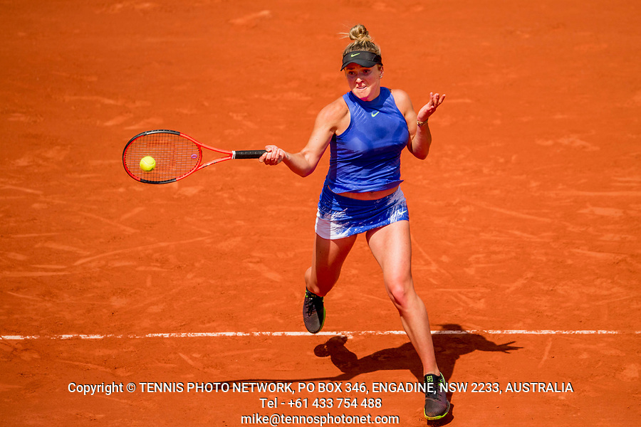 ELINA SVITOLINA (UKR)<br /> <br /> TENNIS - FRENCH OPEN - ROLAND GARROS - ATP - WTA - ITF - GRAND SLAM - CHAMPIONSHIPS - PARIS - FRANCE - 2017  <br /> <br /> <br /> <br /> &copy; TENNIS PHOTO NETWORK