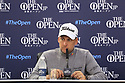 Ian Poulter (ENG) in media interview during 146th Open Championship played at Royal Birkdale, Southport,  Merseyside, England. 20 - 23 July 2017 (Picture Credit / Phil Inglis)