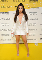 BROOKLYN, NY - SEPTEMBER 10: Lauren Jauregui at The Yellow Ball at The Brooklyn Museum in New York City on September 10, 2018. <br /> CAP/MPI99<br /> &copy;MPI99/Capital Pictures