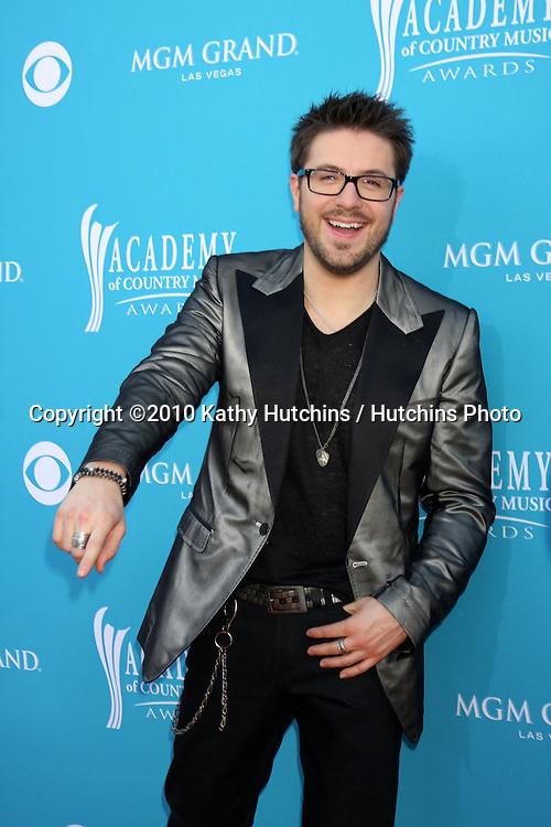 Danny Gokey.arrives at the Academy of Country Music Awards 2010.MGM Garden Arena.Las Vegas, NV.April 18, 2010.©2010 Kathy Hutchins / Hutchins Photo....