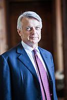Ferruccio de Bortoli è un giornalista italiano. È stato due volte direttore del Corriere della Sera, dal 1997 al 2003 e dal 2009 al 2015, nonché direttore del Sole 24 Ore dal 2005 al 2009. Dal 2015 è presidente dell'Associazione Vidas di Milano. Como, 7 ottobre 2017. © Leonardo Cendamo
