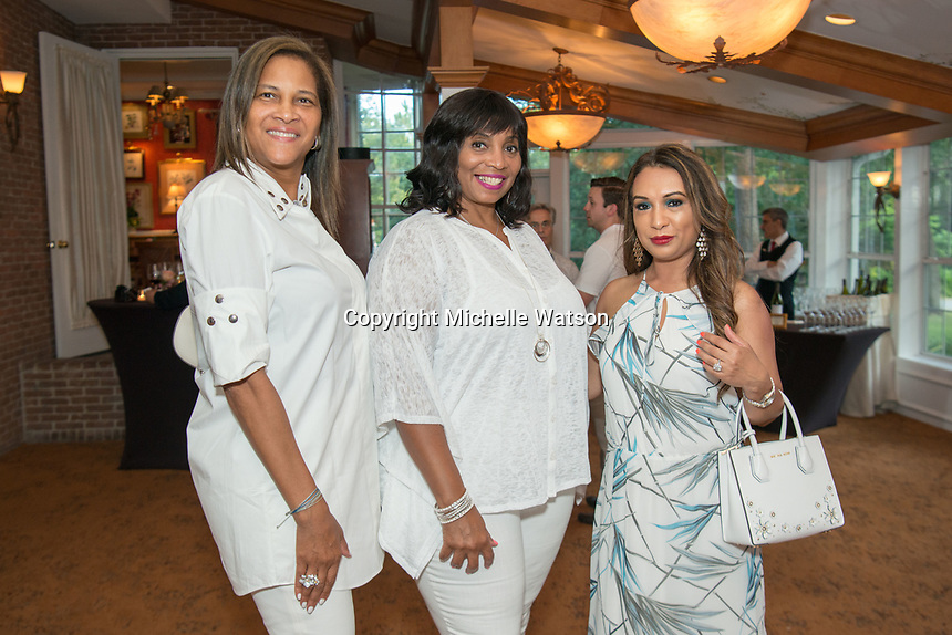Guests enjoy an evening at The Houstonian Manor House