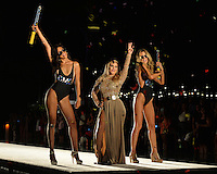 MIAMI BEACH, FL - JULY 14: Designer Andrea Gaviria walks the runway during the OMG Swimwear at the Official Kick-Off Party of Swim Miami hosted by Planet Fashion TV at W South Beach Hotel & Residences in Miami Beach, Florida. Credit: mpi04/MediaPunch