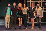 Actors Sara Gomez, Aixa Villagran, Mabel del Pozo, Alberto Amarilla, Roberto Drago and Gonzalo de Santiago  during the presentation of theater play `La ciudad borracha´ in Madrid, Spain. March 11, 2016. (ALTERPHOTOS/Victor Blanco)